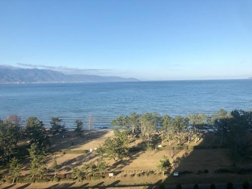 琵琶湖マリオットホテルの温泉付きプレミアムルーム
