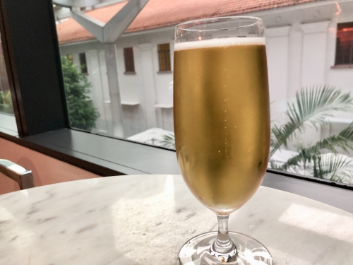 JWマリオットホテルシンガポールのイブニングカクテル