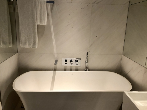 JWマリオットホテルシンガポールのデラックスルーム