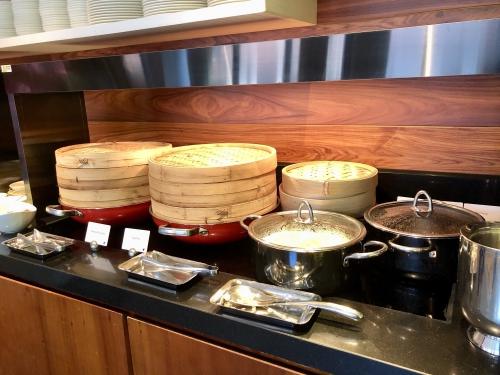 JWマリオットホテルシンガポールのラウンジ朝食