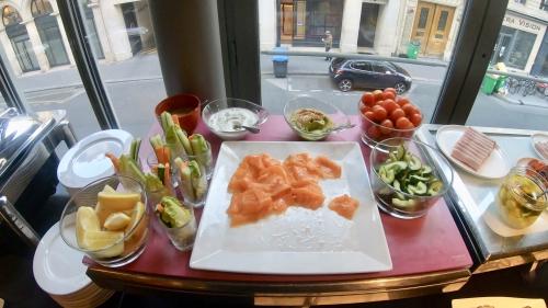 Wパリ オペラ(W Paris Opera)の朝食