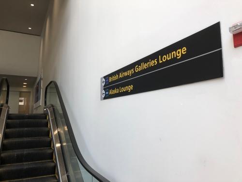 ニューヨークJFK空港のアラスカ航空ラウンジ