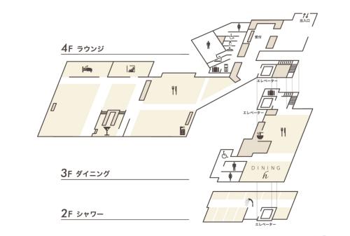 羽田空港第二ターミナルのANAスイートラウンジ