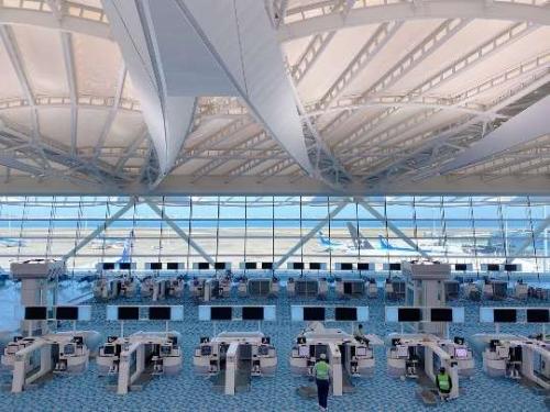 羽田空港第二ターミナル国際線エリア
