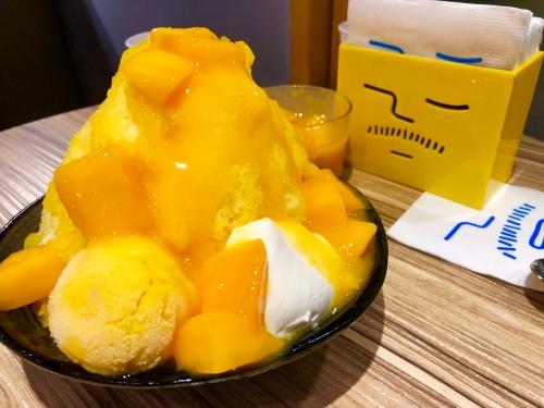 アイスモンスターのマンゴーかき氷
