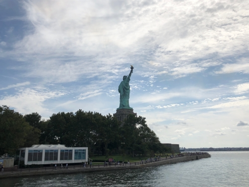 自由の女神ニュージャージー発