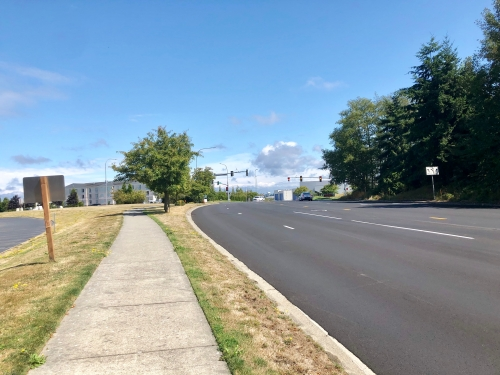 シアトルボーイングエバレット工場路線バス