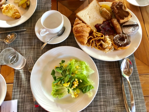 シェラトンモルディブの朝食会場feast