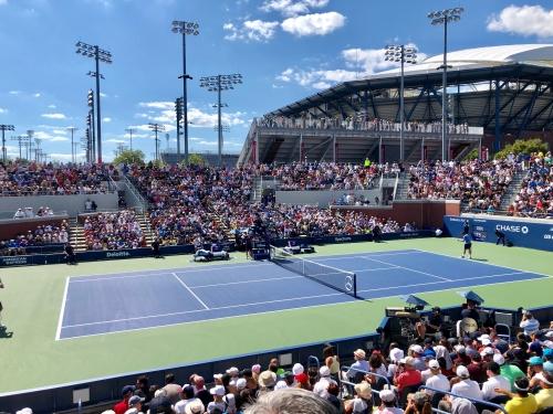 全米オープンテニス観戦記ブログ