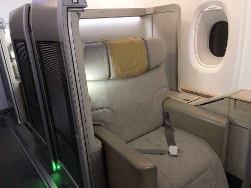 アシアナ航空ビジネススイートクラス