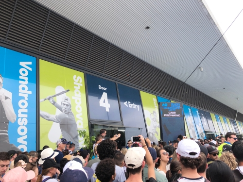 テニス全豪オープン観戦記