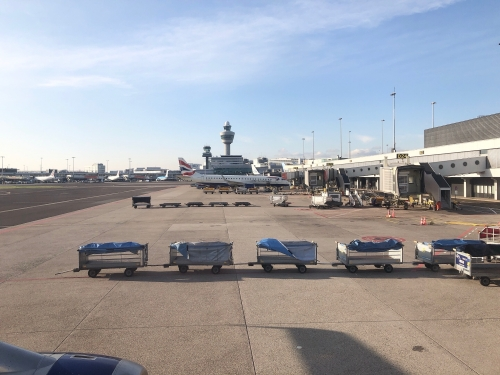 BA434ブリティッシュエアビジネスクラス搭乗記