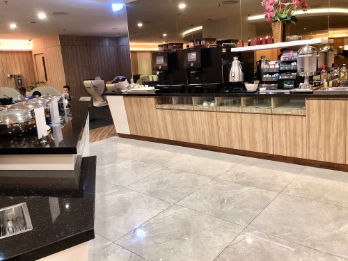 シンガポール空港のSATSプレミアラウンジ