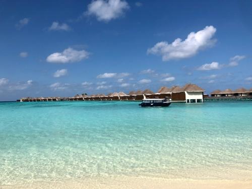 Wモルディブのビーチ