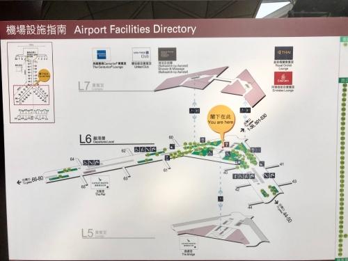 香港空港マップ