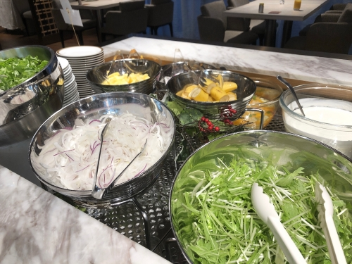 ホテル日航立川の朝食
