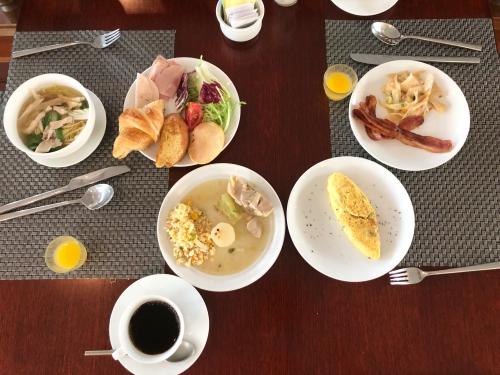 ルメリディアンアンコールの朝食