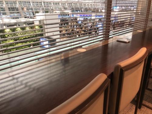 ソウル仁川空港のスカイハブラウンジ