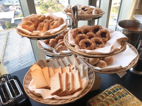 ホテルフランクスの朝食