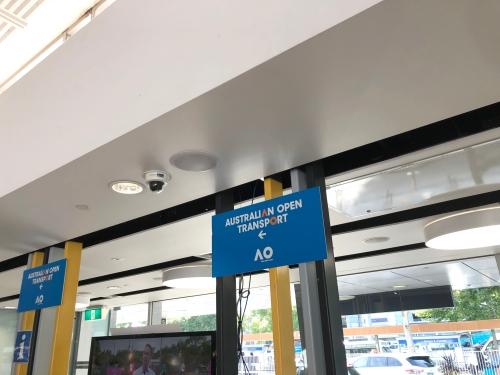 メルボルン空港のタクシー