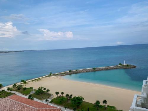 シェラトン沖縄のオーシャンメゾネットルーム