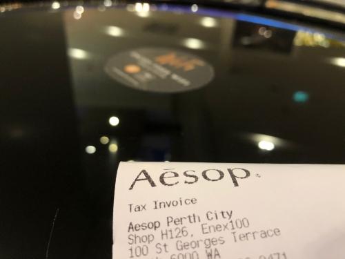 パース空港の免税手続き