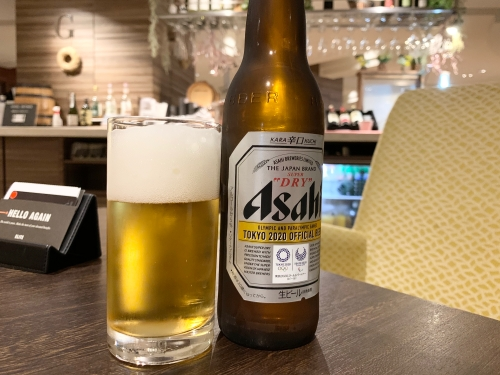 軽井沢マリオットホテルのラウンジ