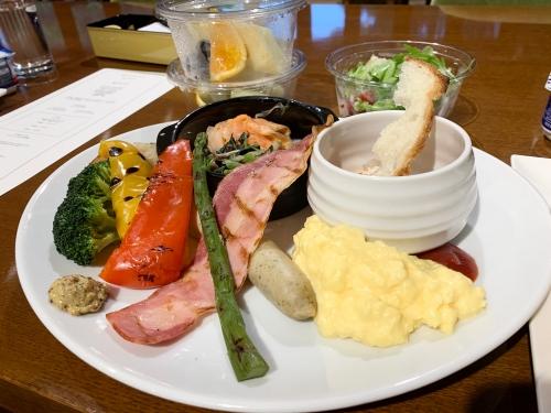 軽井沢マリオットホテル朝食