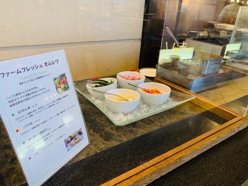 神戸ベイシェラトンホテルの朝食ブッフェ