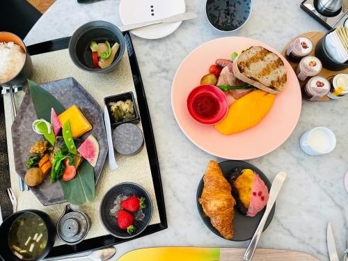 W大阪の朝食オーララ