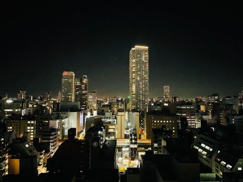 W大阪の夜景